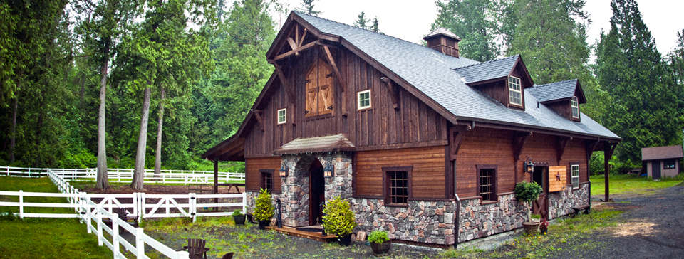 Cost to build a barn with living quarters joy studio for American barn house plans